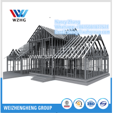 Australia Standard Light Gauge Steel Frame Prefab House